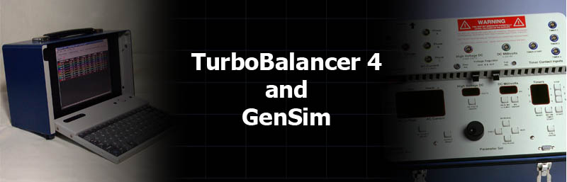 TurboBalancer and GenSim Monitoring and Test Equipment